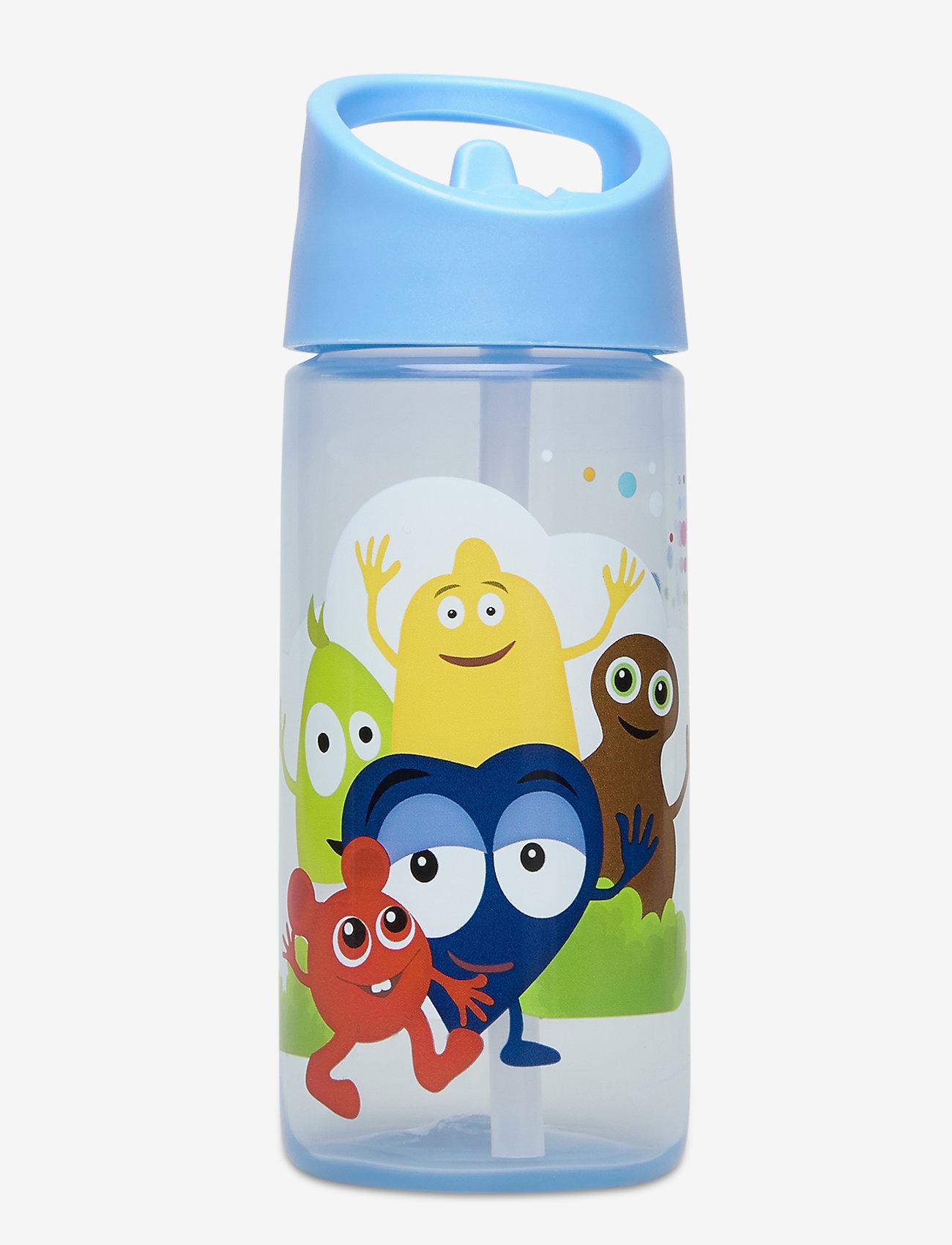 Euromic - BABBLARNA water bottle - vannflasker - blue - 0