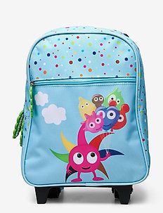 BABBLARNA junior trolley backpack - ryggsäckar - blue