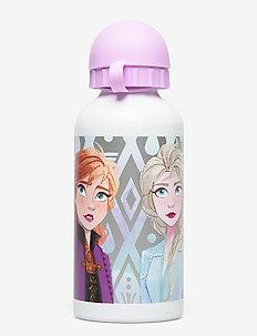 FROZEN water bottle - vannflasker - silver