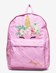 UNICORN GLOBE large backpack - sacs a dos - pink