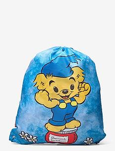 BAMSE gym bag/shoe bag - sports tasker - blue