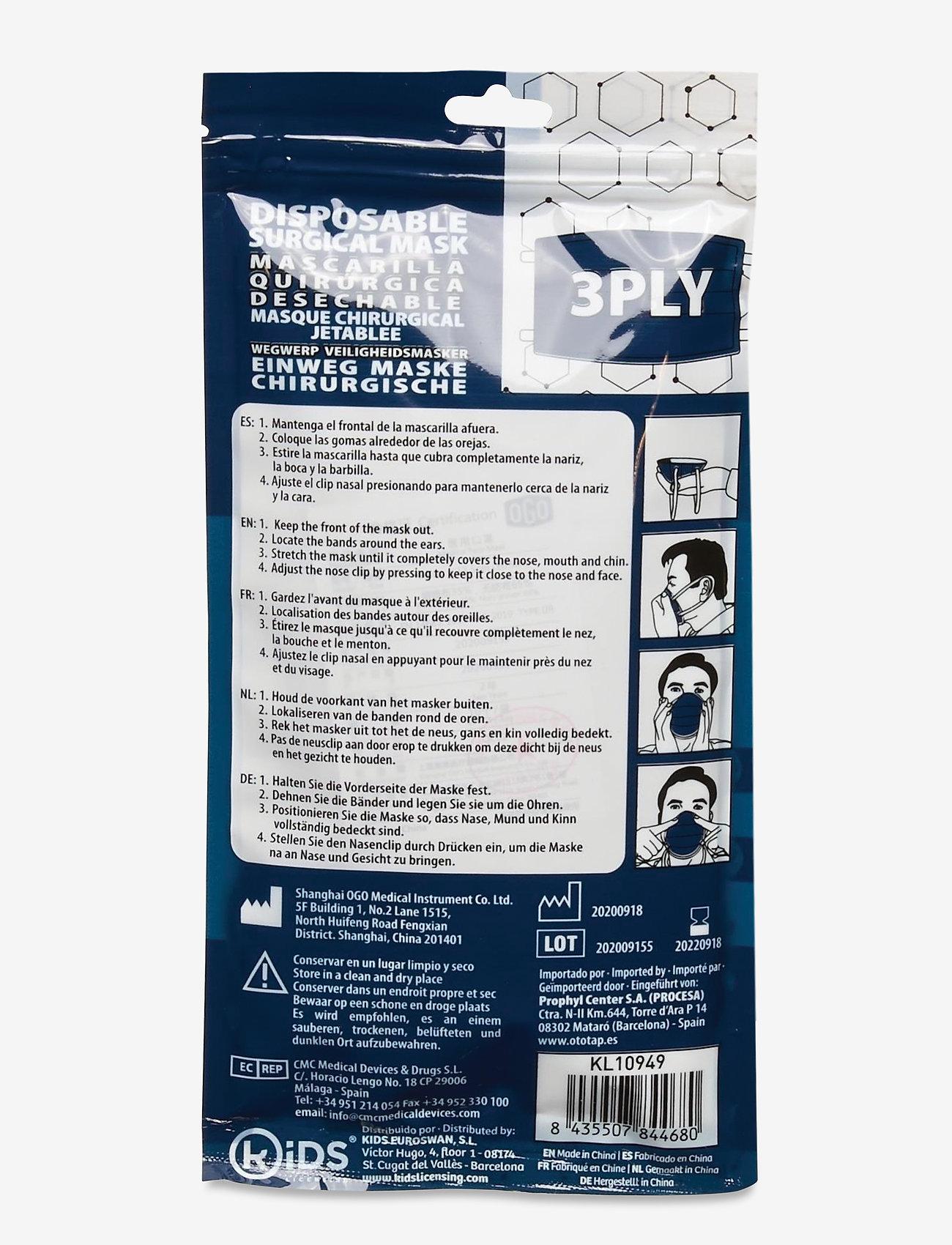 Euromic - Disposable Surgical Mask Type IIR - ansiktsmasker - blue - 1