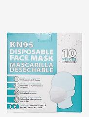Euromic - Disposable Face Mask KN95 - gezicht maskers - white - 2