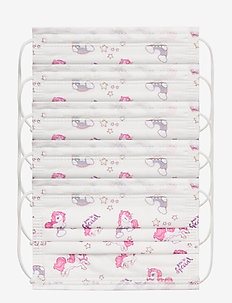 Disposable Children Surgical Mask Type IIR with Case - face masks - white