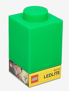 LEGO CLASSIC Silicone Brick 1000% - lampki - green