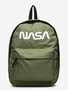 NASA LOGO backpack - backpacks - green