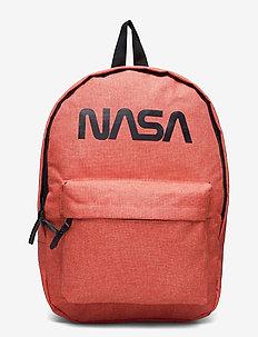 NASA LOGO backpack - backpacks - orange