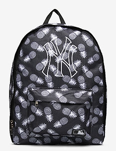 NY YANKEES black/white pineapple with white NYY log - backpacks - black