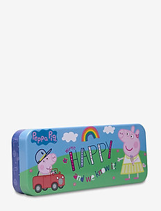 PEPPA PIG pencil tin - pennfodral - blue
