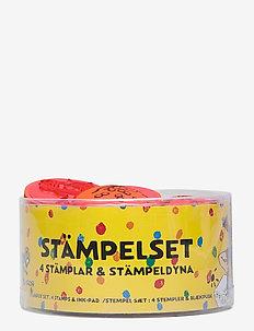 PIPPI stamp set - kreativitet - yellow