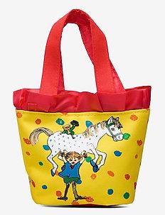 PIPPI ruffle handbag - totes & small bags - yellow