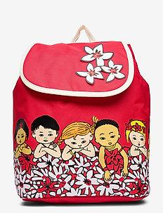 PIPPI backpack Flower - backpacks - red