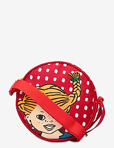 PIPPI round shoulder bag - petits sacs - red