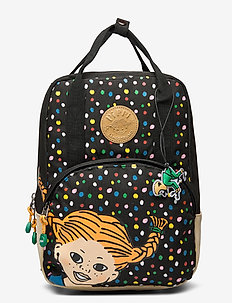 PIPPI retro backpack - ryggsäckar - black