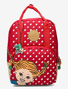 PIPPI retro backpack - sacs a dos - red