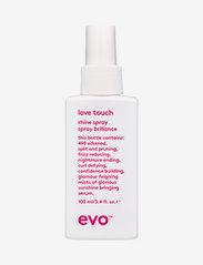 Evo - Love Touch Shine Spray - hårspray - clear - 0