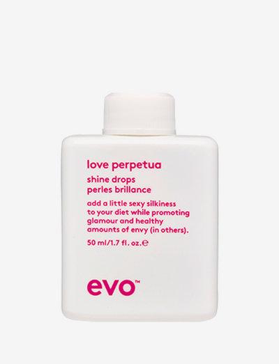 Love Perpetua Shine Drops 50ml - håroljor - clear