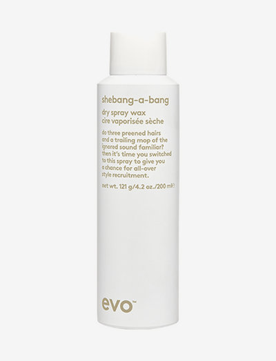 Shebangabang Dry Spray Wax - styling - clear