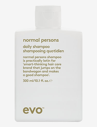 Normal Persons Daily Shampoo - shampoo - clear