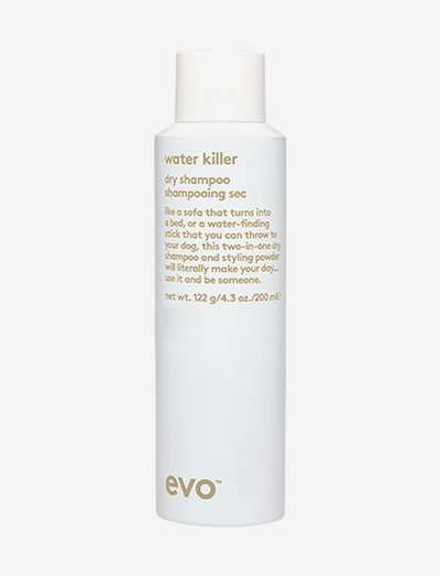 Water Killer Dry Shampoo - torrschampo - clear