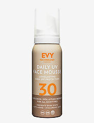 EVY Technology - Daily UV Face Mousse SPF 30 - ansikte - no colour - 0