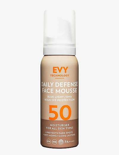 Daily Defense Face Mousse SPF 50 - kasvot - no colour