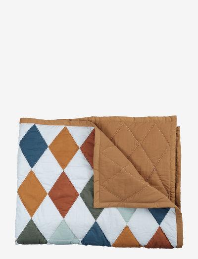 Blanket - Diamond - Patchwork - decken - multi