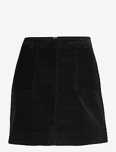 Victoria Solid Skirt - korta kjolar - uni black