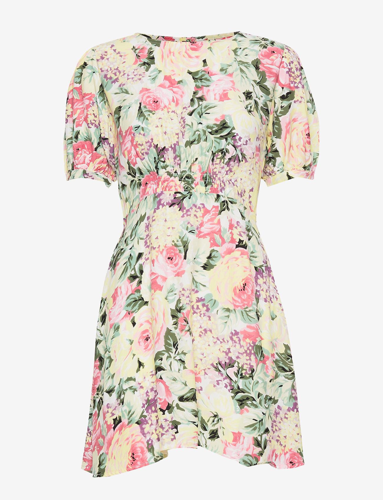 Faithfull The Brand - Sidonie Mini Dress - lyhyet mekot - venissa floral print