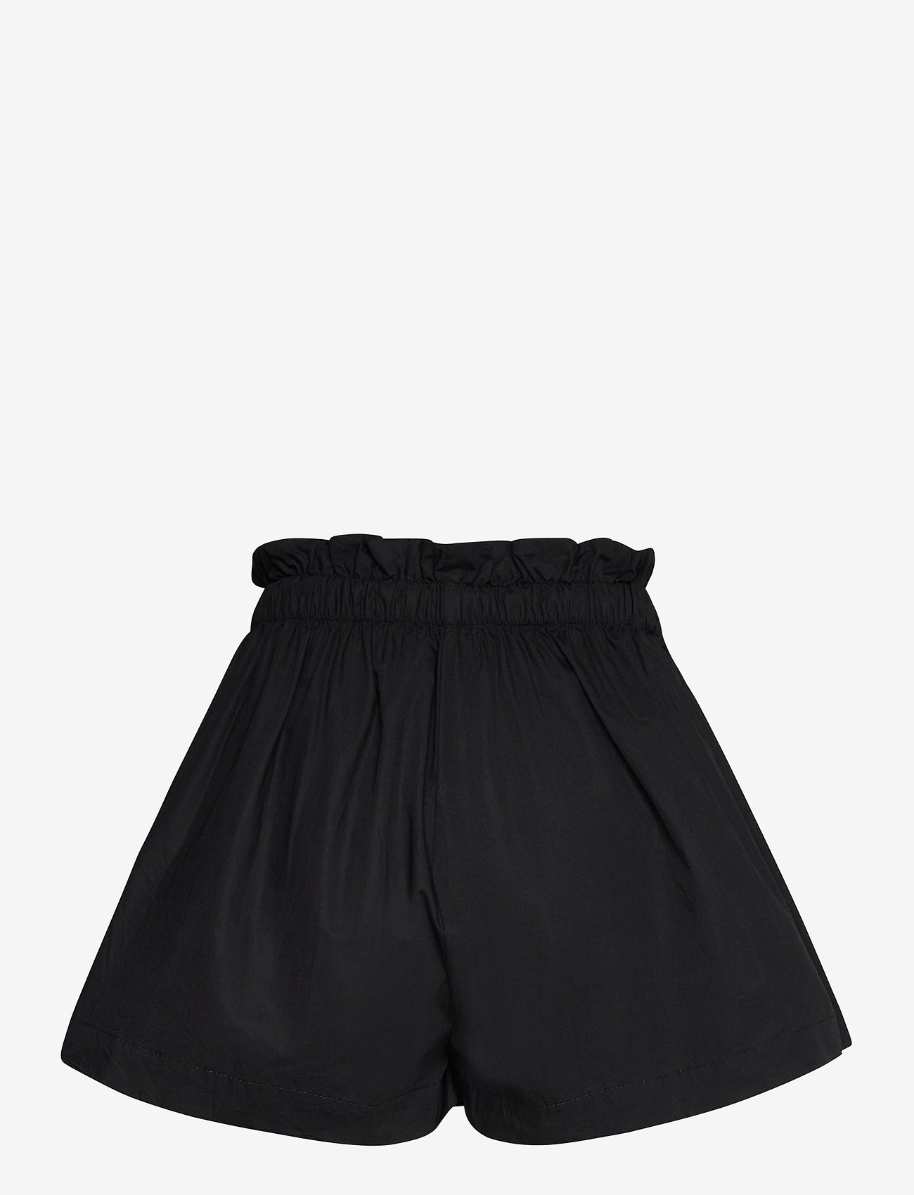 Faithfull The Brand - Shelby Short - paper bag shorts - plain black - 1