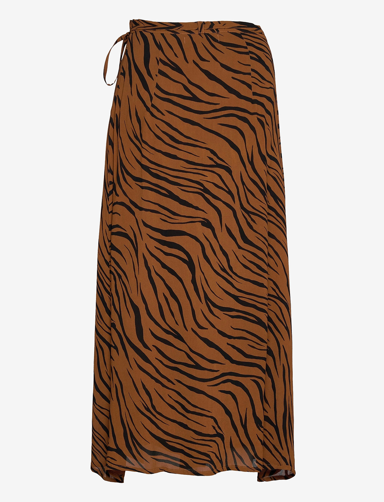 Faithfull The Brand - Janine Skirt - jupes midi - kenya animal print - 1