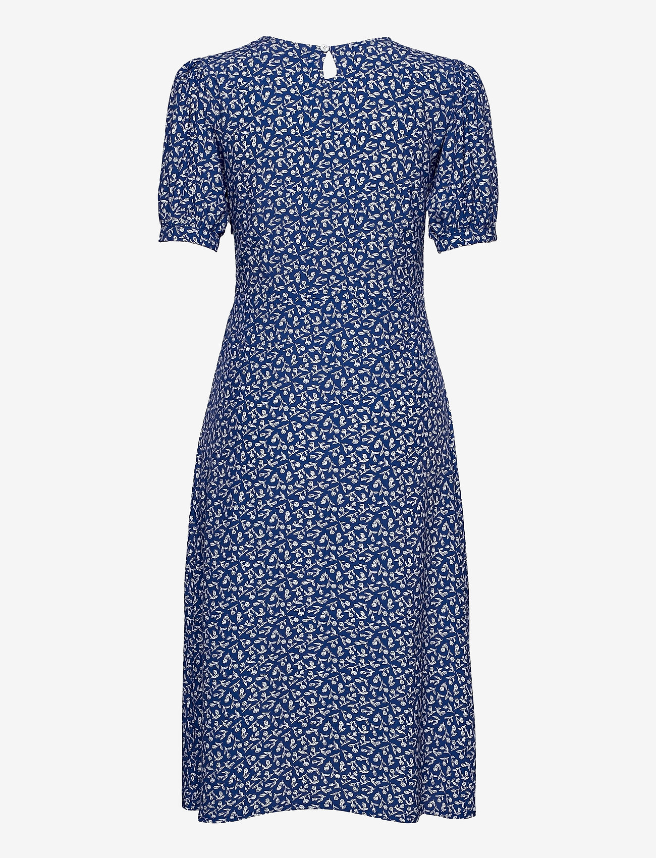 Faithfull The Brand - SAMIRAH MIDI DRESS - zomerjurken - maddy floral print - vintage blue - 1