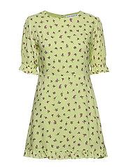 Florence Mini Dress - LUDA FLORAL LIME