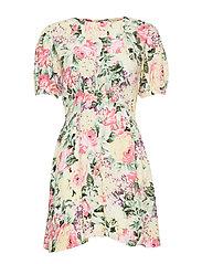 Sidonie Mini Dress - VENISSA FLORAL PRINT