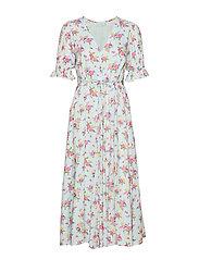 Maggie Midi Dress - JULIETTE FLORAL BLUE