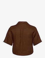 Faithfull The Brand - Chaumont Shirt - overhemden met korte mouwen - plain almond - 2