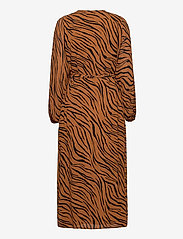 Faithfull The Brand - Florian Wrap Dress - robes portefeuille - kenya animal print - 1