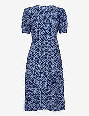Faithfull The Brand - SAMIRAH MIDI DRESS - zomerjurken - maddy floral print - vintage blue - 0