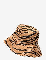Faithfull The Brand - Bettina Bucket Hat - bøllehatte - kenya animal print - 1