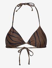 Faithfull The Brand - Sundar Top - hauts de maillot triangle - kenya animal print - 0