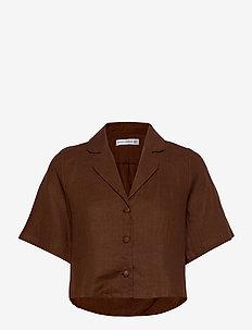 Chaumont Shirt - overhemden met korte mouwen - plain almond