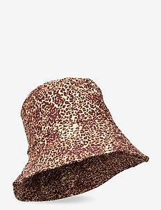 Bucket Hat - emmer hoeden - charlie leopard print