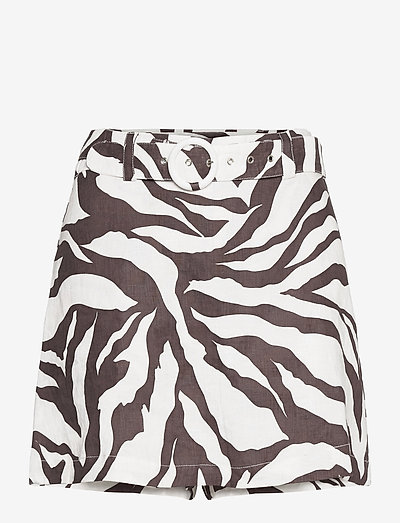 Celia Skirt - korte nederdele - javelina animal print