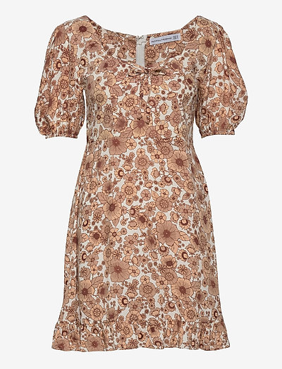 Agathe Mini Dress - everyday dresses - wiley floral print