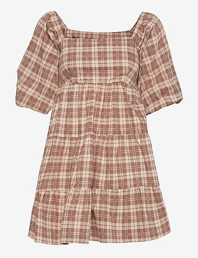 Eryn mini Dress - sommerkjoler - lori check print