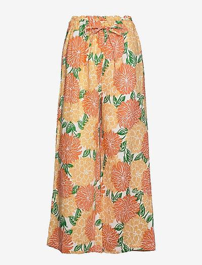BRIELLE PANTS - maxi nederdele - mariposa floral print