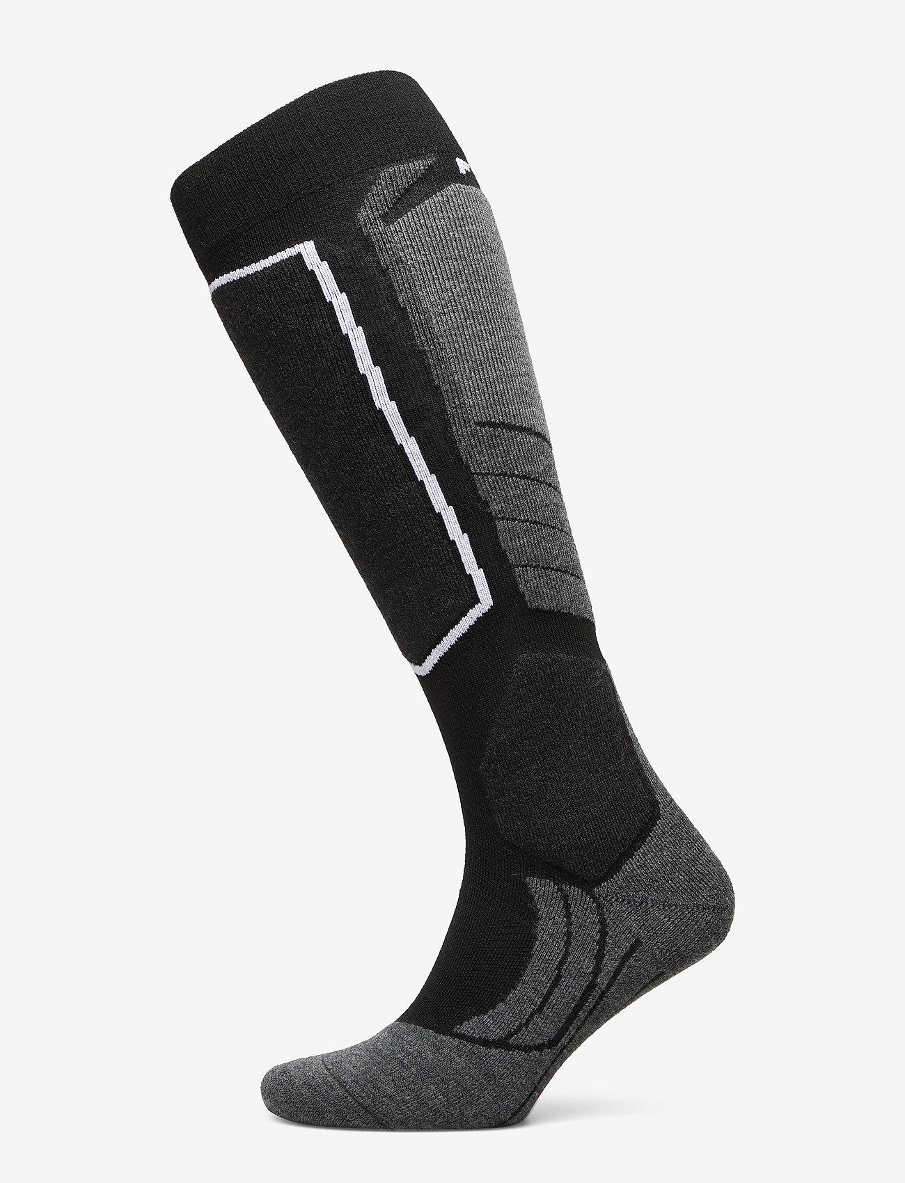 Falke Sport - FALKE SK2 Wool - regular socks - black-mix - 0