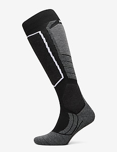 FALKE SK2 Wool - vanliga strumpor - black-mix
