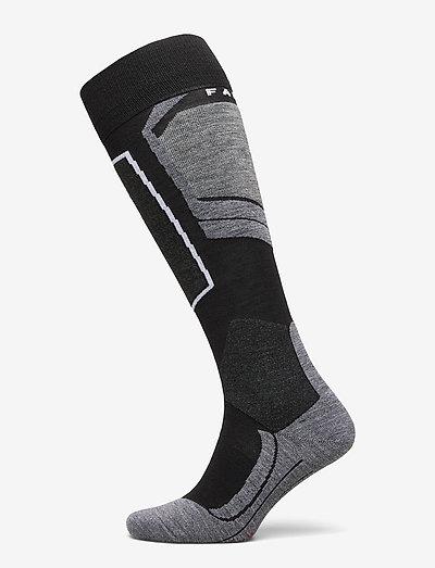 FALKE SK4 - regular socks - black-mix