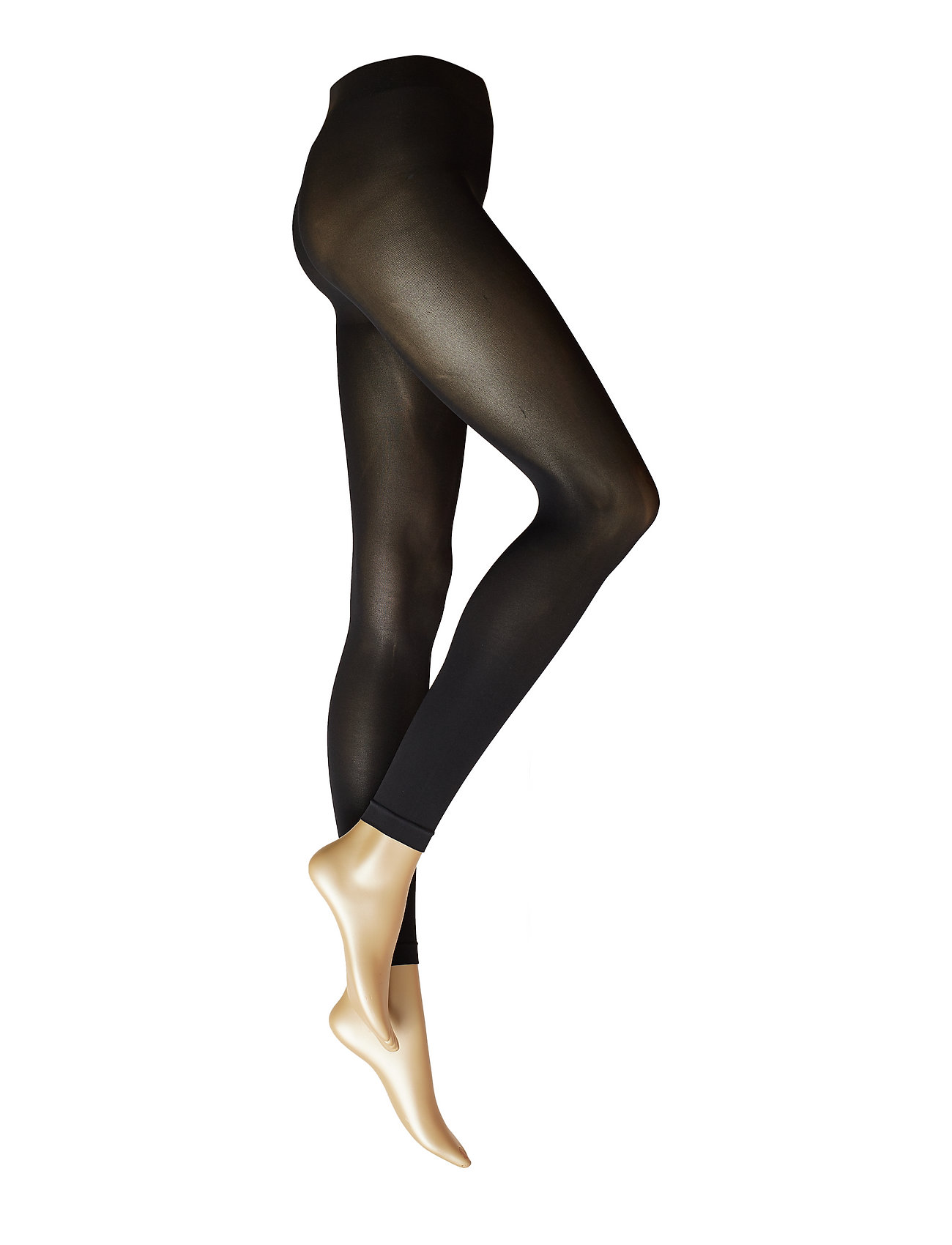 Falke Women Pure matt 50 LG - BLACK